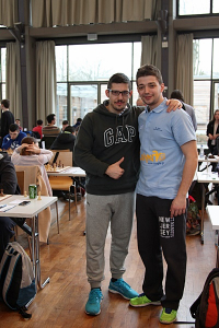Schachfreunde aus Griechenland