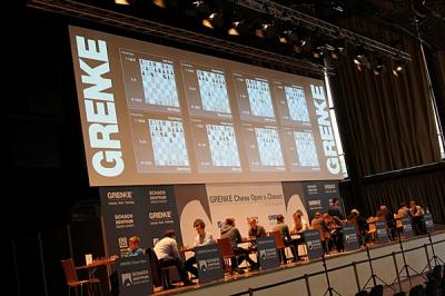 Bühne GRENKE Chess Open