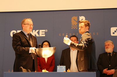 Auslosung Magnus Carlsen